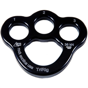 Picture of TriRig Aluminum 3 Hole Rigging Plate
